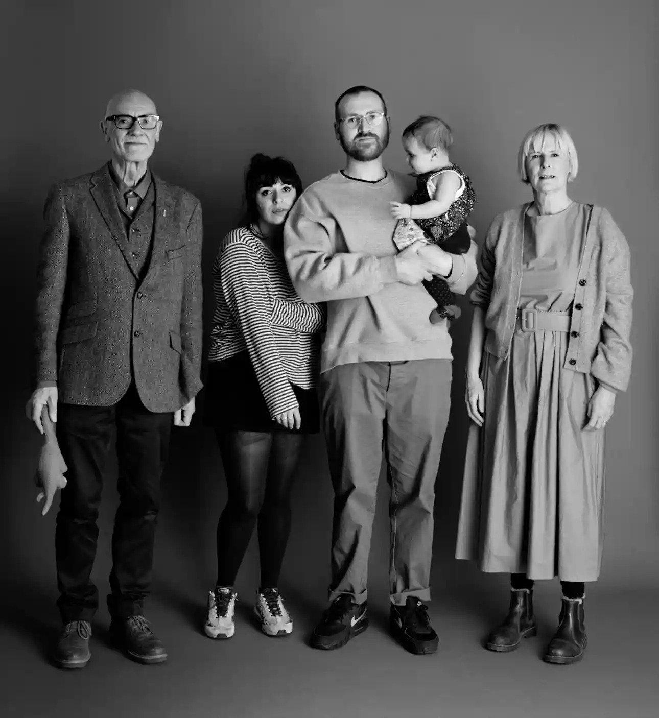 Kleine maar fijne fotokunst: We Are Family